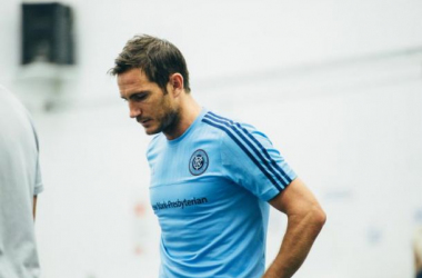 Frank Lampard in his salad days with NYCFC. Photo courtesy of NYCFC.COM