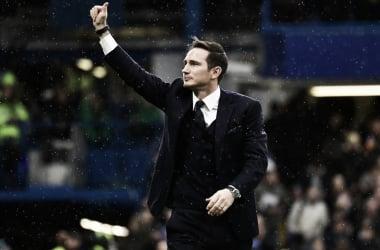 Lampard saludo a la afición de Chelsea | Foto: Getty Images.