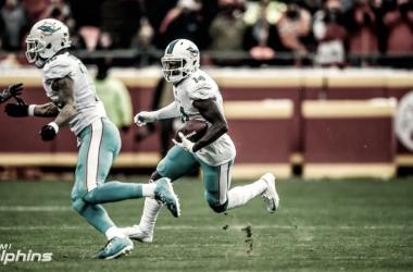 Los Dolphins han optado por usar el 'franchise tag' con el receptor Jarvis Landry. | Foto: Miami Dolphins