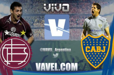 Resultado Lanús - Boca Juniors 2015 (2-2)