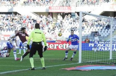 Cornada a las opciones europeas de la Sampdoria