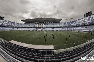 Estadio La Rosaleda / Foto: Málaga CF