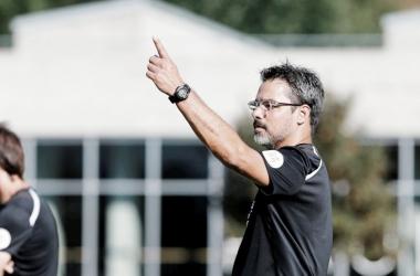 David Wagner en un partido de pretemporada. Foto: Huddersfield Town.
