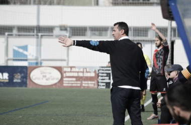 Emilio Larraz en La Almozara | Foto: CD Ebro