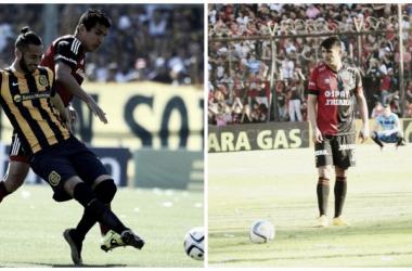 Cara a cara entre Marcelo Larrondo y Alan Ruiz