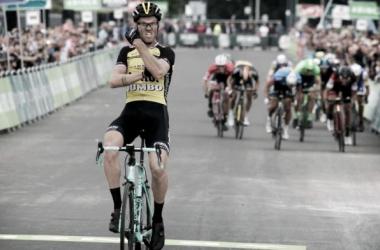 Lars Boom, victoria y liderato en el BinckBank Tour. | Foto: BinckBankTour