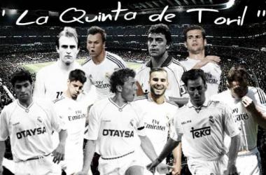 """La """"Quinta de los Toriles"""" recoge el testigo de la """"Quinta del Buitre"""", en el Real Madrid"""