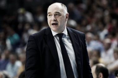 """Pablo Laso: """"El equipo no se raja, el esfuerzo es innegociable"""""""