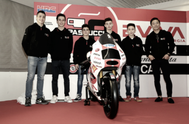 Sic 58 Squadra Corse durante la presentazione a Misano (Fonte: Corsedimoto.com)