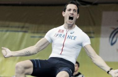 Renaud Lavillenie, leader de l'équipe de France aux Mondiaux de Pékin [© Joe Klamar, AFP]
