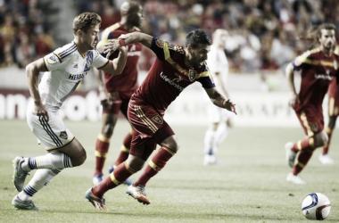 Score Los Angeles Galaxy vs. Real Salt Lake in MLS (5-2)