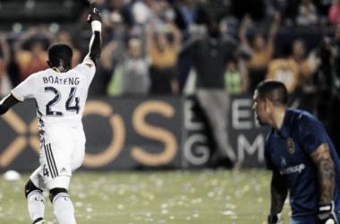 Los Angeles Galaxy's Emmanuel Boateng shines against Real Salt Lake