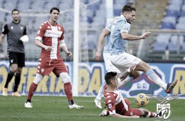 Com gol do 'carrasco' Immobile, Lazio bate Fiorentina no Olímpico