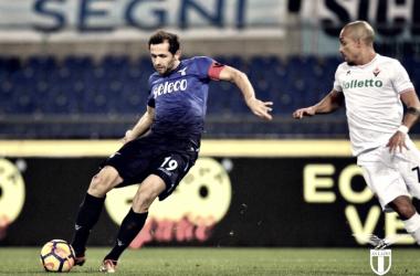 Lulic (31), autore del gol vittoria. Fonte: https://twitter.com/officialsslazio