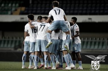 Com hat-trick de Immobile, Lazio goleia Hellas Verona e encosta na Atalanta