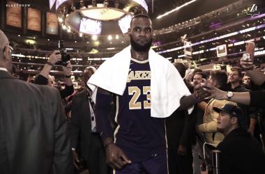 Foto vía: Lakers.