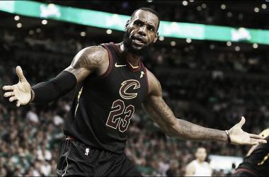 LeBron James. Fonte: Cleveland Cavaliers/Twitter