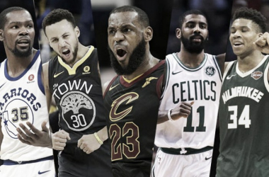 LeBron James and Stephen Curry will face some tough decisions regarding who to draft on their team, just like Raj and Sully. Image credit: Spin.PH.com
