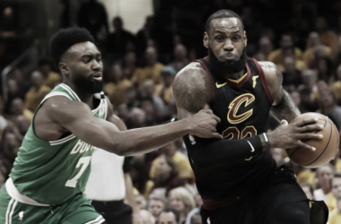 LeBron James led the Cavaliers in a blowout 116-86 win against the Boston Celtics in Game 3. Photo: Tony Dejak/AP