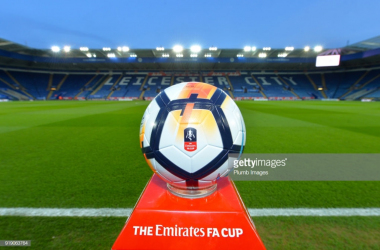 Leicester will be hoping to go better than last year's FA Cup quarter-final exit | Photo: Getty/ Plumb Images
