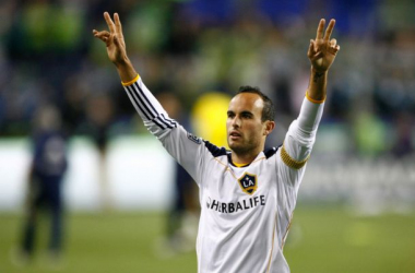 Seattle Sounders - Los Angeles Galaxy Live Score of 2014 MLS Cup Playoffs