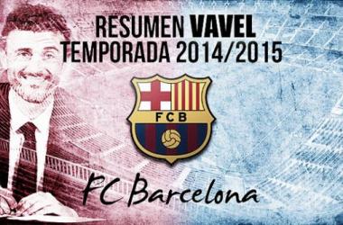 Resumen temporada2014/15 delFC Barcelona: la historia tiene color azulgrana