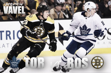 Toronto Maple Leafs vs Boston Bruins playoff preview. (Photomontage: Vavel)