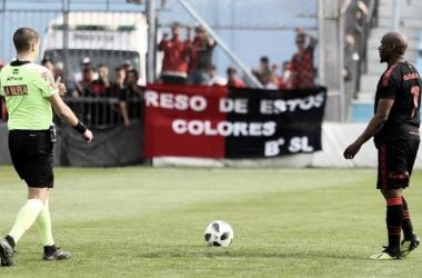 Leal se lesionó y De Felippe maneja opciones para su reemplazo. Foto: Prensa CANOB.