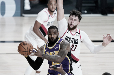 CRÓNICA NBA: Vuelve el mejor LeBron para tumbar a los Blazers