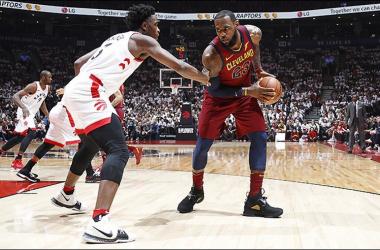 NBA Playoffs - Cleveland sbanca Toronto in gara-1, le impressioni dei protagonisti - Foto Cavs Twitter