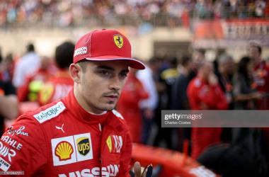 Charles Leclerc signs fresh Ferrari deal until 2024