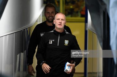 Lee Bullen has won four of his six matches this season as Sheffield Wednesday's caretaker manager. Photo by George Wood/Getty Images.
