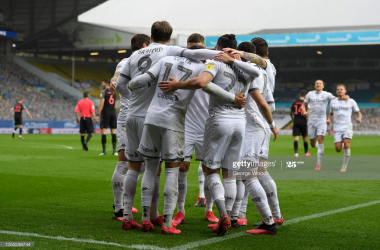 Leeds United 5-0 Stoke City: Leeds back at the top after five-star performance