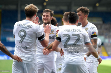 Leeds United 1-0 Barnsley: Whites have one foot in the Premier League door