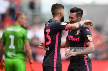 Leeds began their Championship campaign with a 3-1 win at Bristol City last weekend.Photo by Alex Davidson/Getty Images.