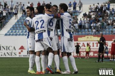 Fotos e imágenes del Leganés 1-1 Real Zaragoza. Jornada 3, Liga Adelante