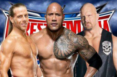All three legends are expected at WrestleMania. Photo- Sescoops.com