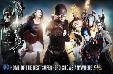 Warner divulga pôster reunindo todos os super-heróis das séries da CW