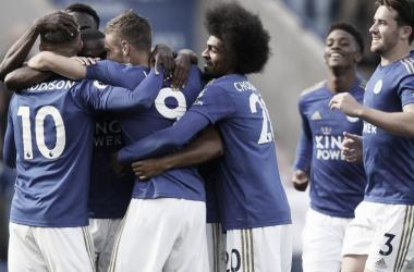 Leicester City está arrasando en el inicio   Foto: Premier League