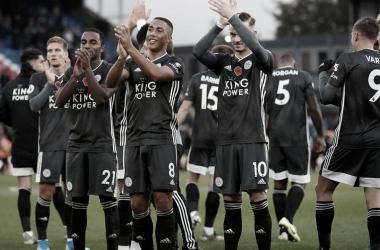 Leicester City, uno de los equipos revelación de la temporada | Foto: Premier League