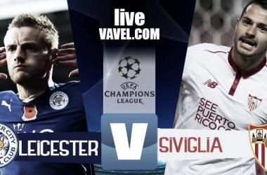 Leicester City - Siviglia in ottavi di ritorno Champions League 2016/17 (2-0): Foxes ai quarti, Siviglia eliminato!
