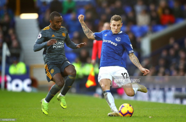 Leicester travel to Goodison Park in the quarter-finals of the Carabao Cup | Photo: Getty/ Clive Brunskill