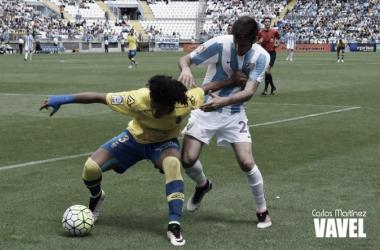 Málaga CF – UD Las Palmas, puntuaciones de la UD Las Palmas, jornada 38 de liga