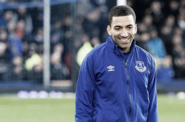 Lennon scored two goals in 14 appearances whilst on loan at Everton during the second-half of last season. (Image: evertonfc.com)