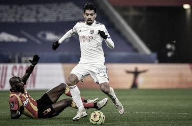 Lens 1 a 1 Lyon (Ligue 1 / Divulgação)