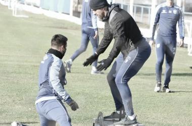 El delantero Leandro Díaz estuvo presente en la primera semana de pretemporada junto al plantel profesional, pero su próximo club será Estudiantes de La Plata. FOTO: PRENSA ATLÉTICO TUCUMÁN.