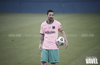 Leo Messi, capitán y estrella del Barcelona | Foto: Noelia Déniz - VAVEL