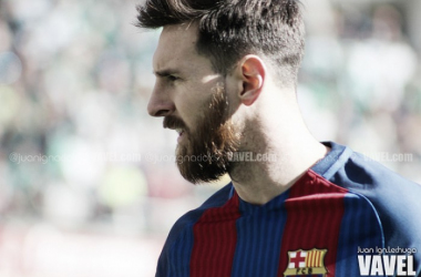 Leo Messi, gran peligro para el Betis