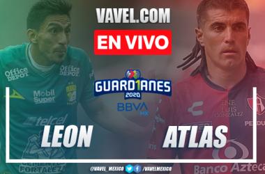 Goles y resumen: León 2-1 Atlas en Guard1anes 2020