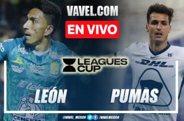 Resumen y goles: León 2-0 Pumas en Leagues CUP